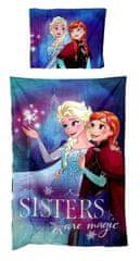 "SETINO Otroška posteljnina ""Frozen"" - 140x200, 70x90 modra"