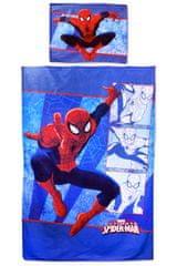 """SETINO Otroška posteljnina """"Spiderman"""" - 140x200, 70x90 modra"""