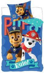 SETINO chlapčenské bavlnené obliečky Paw Patrol - 140x200, 70x90
