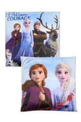 """SETINO Dekliški vzglavnik """"Frozen"""" - 40x40cm - vijolična"""