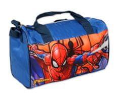 """SETINO Chlapčenská cestovná a športova taška """"Spider-man"""" - tmavo modrá"""
