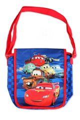 SETINO Disney taška přes rameno Cars - modrá - 25x23 cm