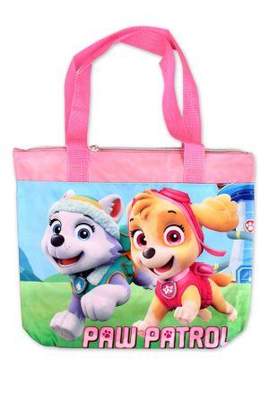"""SETINO Plażowa torba na ramię dla dziewczynki """"Psi Patrol"""" - różowy"""