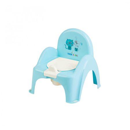 Tega Baby Biliárd szék, kutya és macska - kék