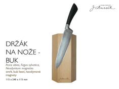 Jindřich Bursík Magnetický držák na nože - buk