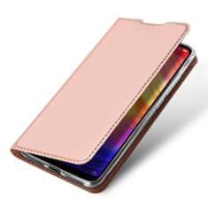 Dux Ducis Skin Pro knížkové kožené pouzdro pro Xiaomi Redmi Note 7, růžové