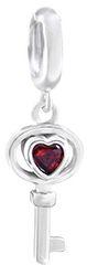 Infinity Love Stříbrný přívěsek Klíč HTS-350-S stříbro 925/1000
