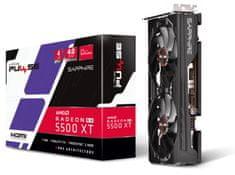 Sapphire PULSE OC Radeon RX 5500 XT, 4 GB GDDR6 grafična kartica