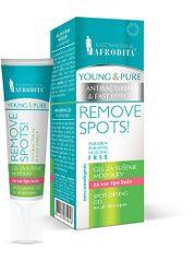Kozmetika Afrodita Young & Pure gel za sušenje prištića, 15 ml