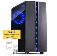 PCplus GAMER namizni računalnik (139554) + DARILO: 1 leto Office 365 Personal