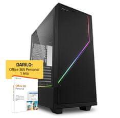mimovrste=) GAMER namizni računalnik (139424) + DARILO: 1 leto Office 365 Personal