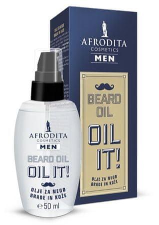 Kozmetika Afrodita Men Beard olje za nego brade, 50 ml