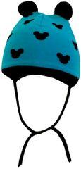 Yetty czapka chłopięca z uszami, wiązana