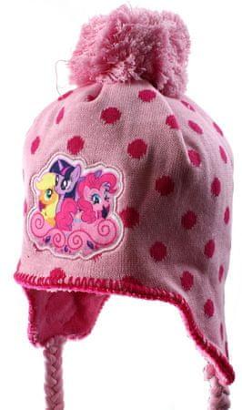 """SETINO Dekliška zimska kapa """"My Little Pony"""" - roza - 54 cm"""