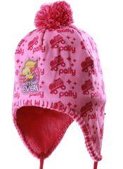 """SETINO Czapka dziewczęca z Pom-pom """"Polly Pocket"""" - różowy"""