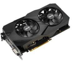 Asus Dual EVO OC GeForce GTX 1660 Ti, 6 GB GDDR6 grafična kartica