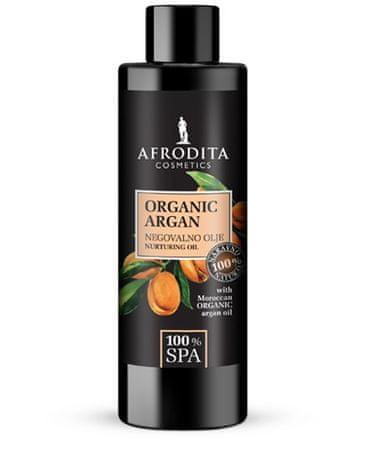 Kozmetika Afrodita SPA Organic Argan negovalno olje, 150 ml