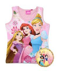 SETINO Dievčenské tielko Disney Princess - svetlo ružová