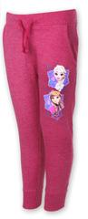 SETINO Dívčí tepláky Frozen - tmavě růžová