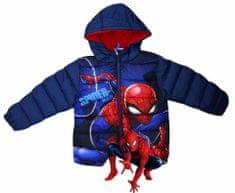 SETINO Chlapčenská zimná bunda - Spiderman (Marvel) - tmavo modrá