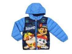SETINO Disney Chlapecká zimní bunda - Paw Patrol - světle modrá