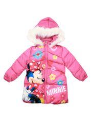 SETINO Disney dívčí zimní bunda - Minnie Mouse - růžová