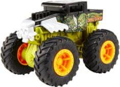 Hot Wheels Monster trucks Velká srážka Bone Shaker zelený