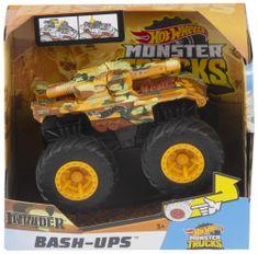 Hot Wheels Monster trucks Invader nagy ütközés