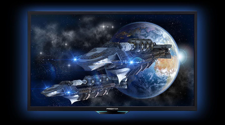monitor gamingowy Acer Predator CG437KP (UM.HC7EE.P01) 4K HDR1000 AMD FreeSync G-Sync compatible