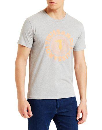 Trussardi Jeans koszulka męska 52T00327-1T003610 S szara