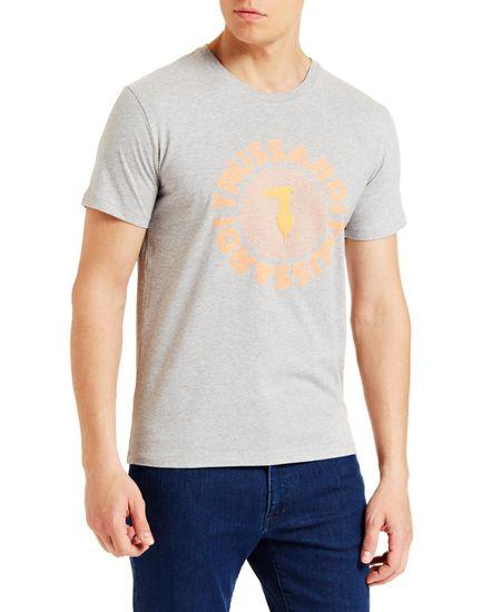 Trussardi Jeans pánské tričko 52T00327-1T003610 S sivá