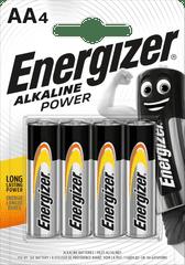 Energizer Alkaline Power AA / 4 LR6 / 4