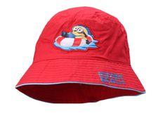 """SETINO Chlapecký klobouk """"Mimoni"""" - červená"""