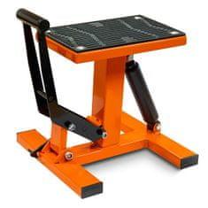 Hydraulický montážne stojan CROSS pod moto-oranžový