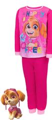 SETINO Lány pamut pizsama - Paw Patrol - Fuchsia