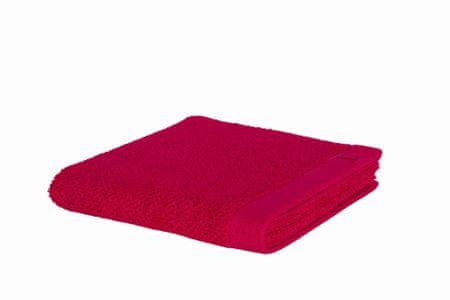Möve NOWOŚĆ Ręcznik ESSENTIAL 30x50 cm, karminowy