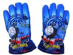 SETINO Disney chlapčenské lyžiarske rukavice - Lokomotíva Tomáš - svetlo modrá