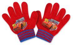 SETINO Chlapecké rukavice - Auta - červená - 10x13cm