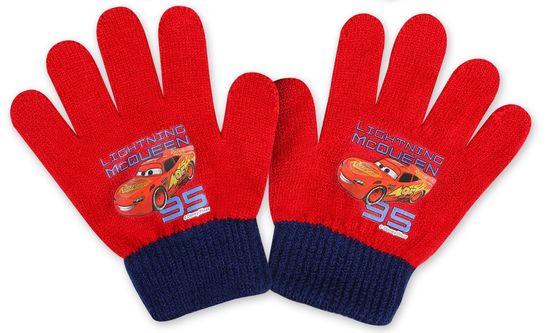 SETINO Chlapčenské prstové rukavice - Cars 95 - červená - 10x13cm
