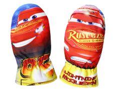 SETINO Chlapčenské rukavice - Cars - červená