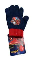 SETINO Disney chlapecké prstové rukavice - Spiderman - červená - 12x16cm