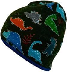 Yetty czapka chłopięca w dinozaury