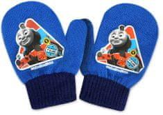 SETINO Disney chlapecké rukavice - Lokomotiva Tomáš - světle modrá - 10x13cm