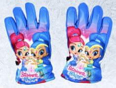 SETINO Disney dievčenské lyžiarske rukavice - Shimmer - modrá