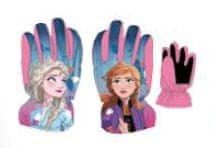 SETINO Disney dívčí lyžárske rukavice - Frozen II - růžová