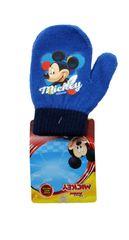 SETINO Disney chlapčenské rukavice - Mickey - svetlo modrá - 10x13cm