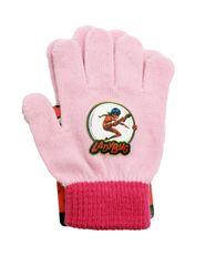 SETINO Disney dievčenské prstové rukavice - Miraculous - ružová - 12x16cm