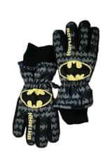 SETINO Marvel chlapčenské lyžiarske rukavice - Batman - čierna