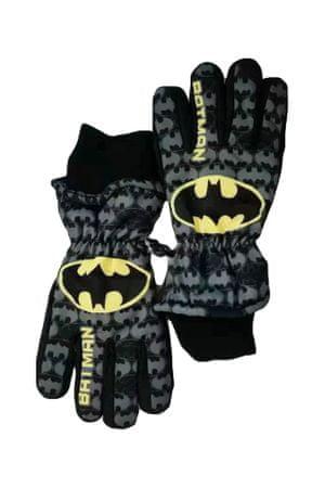 "SETINO Fantovske smučarske rokavice ""Batman"" - črna - 11–12 rokov"