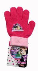 SETINO Disney dívčí prstové rukavice - Minnie mouse - fuchsiová - 12x16 cm